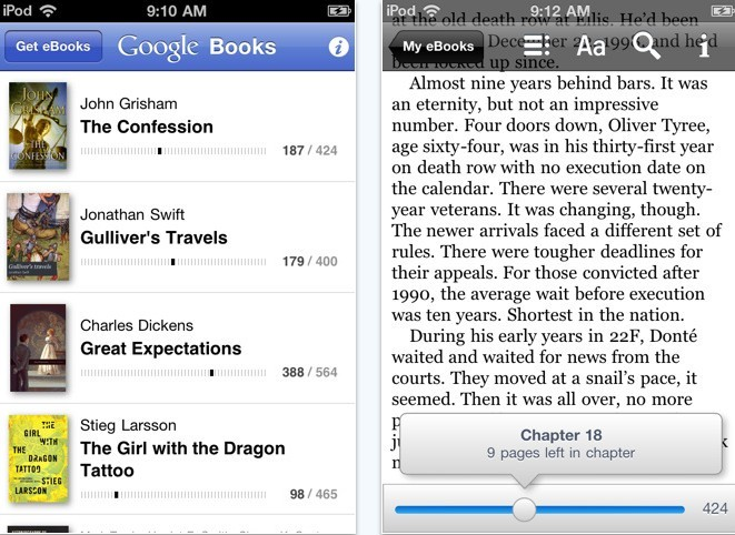 Download Google Books App For iPhone And Android devices - Most i Want