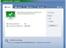 Microsoft Security Essentials 4.0