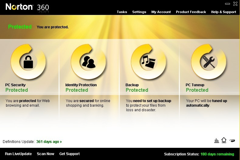 Norton 360 V4 6 Months Product Key Giveaway