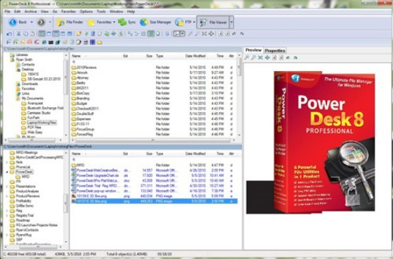 PowerDesk 8 Professional