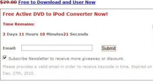 SnowFox DVD To iPod Converter giveaway