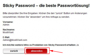 Sticky Password promo
