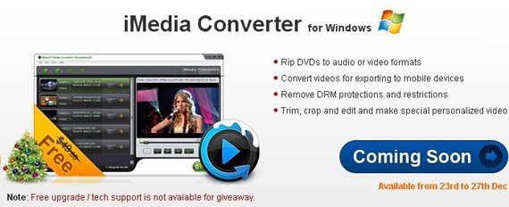iSkysoft iMedia Converter for Windows free registration code