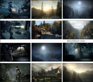 Download Alan Wake Windows 7 theme pack