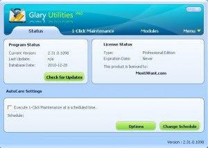 Glary Utilities Pro Free Download With Serial License Key