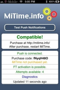 MiTime purchase code