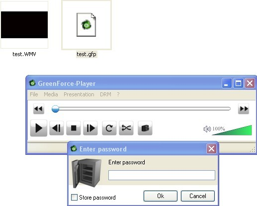 Password Protect Video