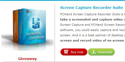 Screen Capture Recorder Suite giveaway