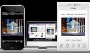Send Images or Photos to your iPad, iPhone or iPod touch from any application or web browser
