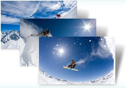 Snow Sports Windows 7 Theme Pack