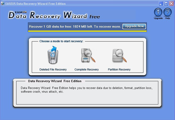 file and data recovery freeware