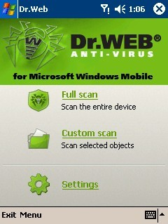 Dr.Web Mobile Security Suite for windows mobile phones