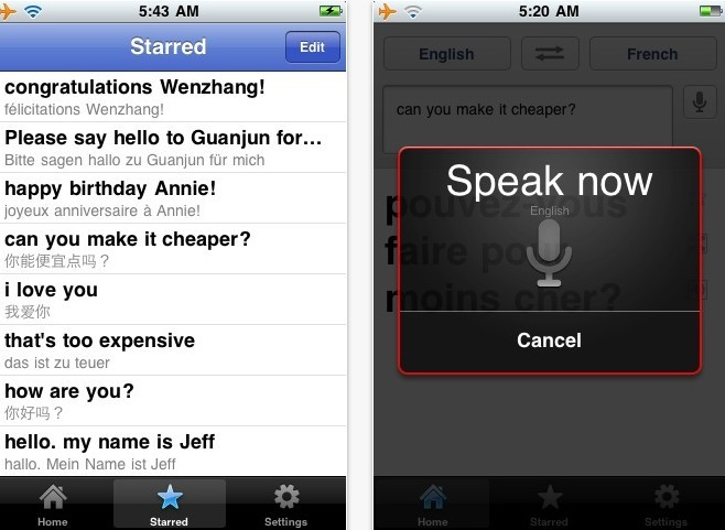 Free Download Google Translate App for iPhone, iPad & iPod Touch