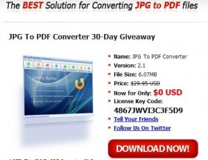 JPG To PDF Converter License Key Code For Free