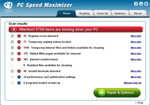 PC Speed Maximizer: a powerful and easy-to-use Windows PC optimization software