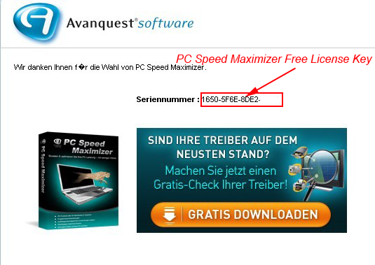 PC Speed Maximizer Free License Key