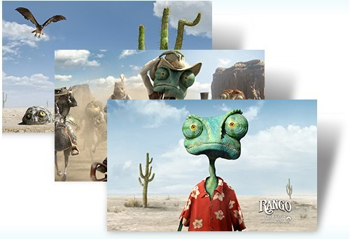 Download Rango Windows 7 Theme Pack