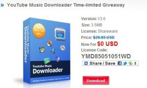 YouTube Music Downloader full version free download