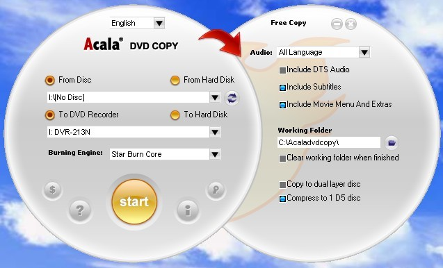 Acala DVD Copy Software