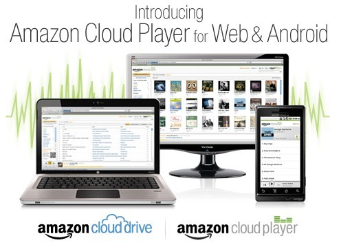 Amazon Cloud Drive with 5GB Free Space and Cloud Player for Web and Android