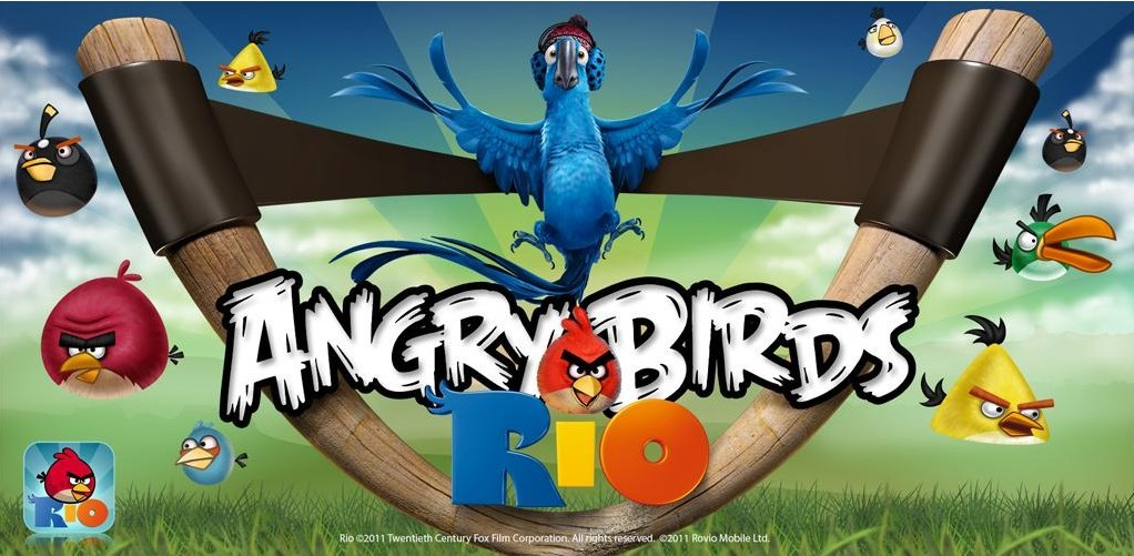 Download Angry Birds Rio For Android Free from Android Market