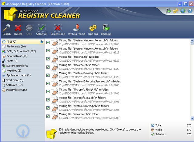 Ashampoo Registry Cleaner Free Full Version