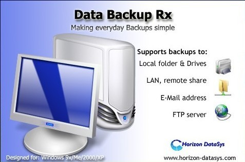 Data Backup Rx : backup & restore software