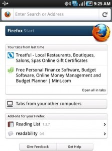Download Firefox 4 Mobile Browser for Android & Maemo Smartphones