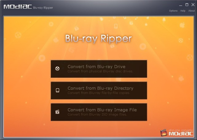Modiac Blu-ray ripper free download With License Code
