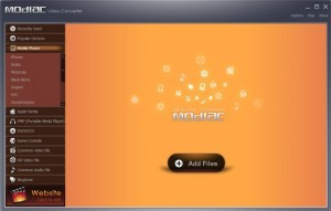 Modiac Video Converter Free download with license code