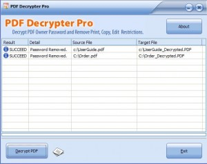 PDF Decrypter Pro: Remove Password from Protected PDF