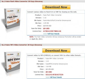 Raize Flash & MP4 Video Converter Free Download With License Code
