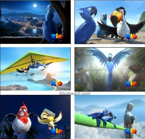 Download Rio Movie Windows 7 Theme Pack