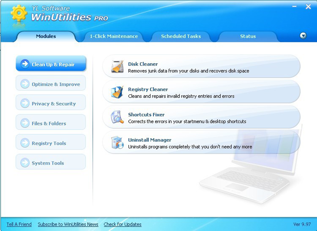 WinUtilities Professional Edition