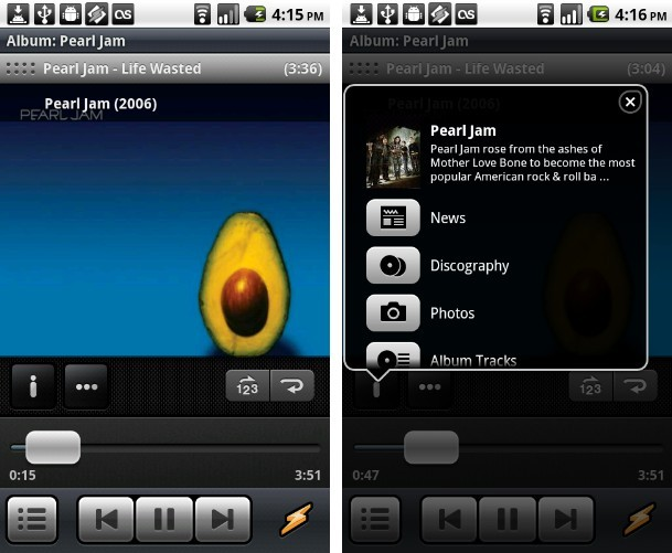 Winamp app For Android phone