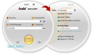 Copy Any DVD within 3 Steps With Acala DVD Copy Software