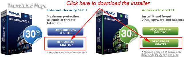 Panda Internet Security & Antivirus Pro 2011 Free 6 Months Trial Activation Code