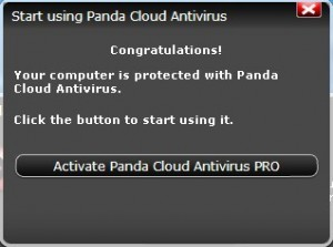 Active 6 months subscription of Panda Cloud Antivirus Pro for Free