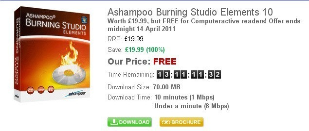 Ashampoo Burning Studio Elements 10 Serial Number Giveaway