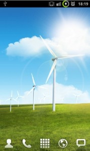 Samsung Galaxy S II Windmill Live Wallpapers for Your Android Phones