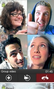 Fring Group Video Call on iPhone & Android Mobile Phone