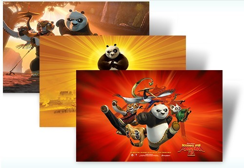 Downlaod Kung Fu Panda 2 Movie Windows 7 Theme Pack