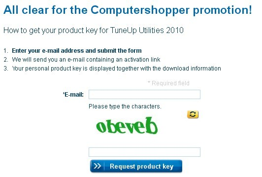 TuneUp Utilities 2010 Product Key Giveaway