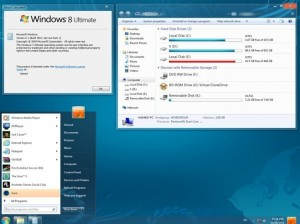 Windows 8 Ultimate Edition Transformation Pack For Windows 7