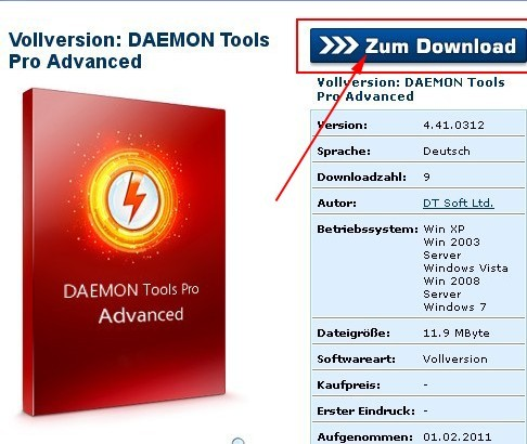 download DAEMON Tools Pro Advanced 4.41 free from Chip