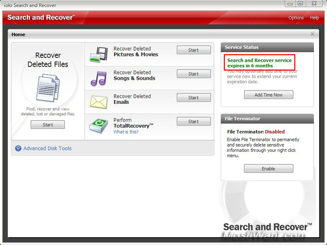 iolo Search and Recover Free 6 Months Activation Key