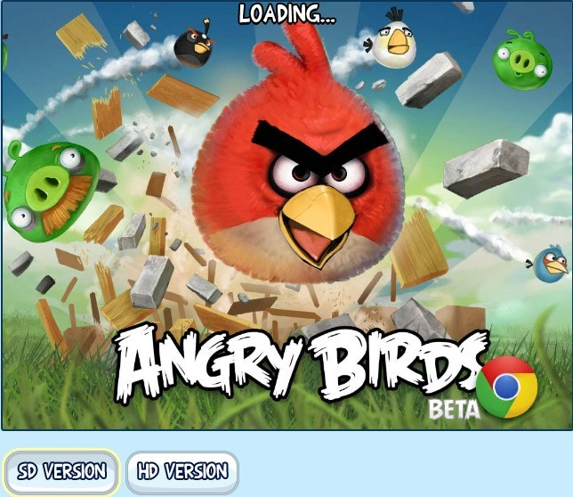 Play Angry Birds Online in Chrome,  IE, Firefox, Safari & Opera Web Browsers