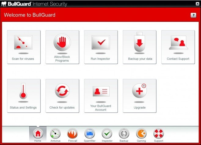 BullGuard Internet Security Version 10