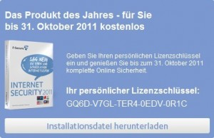 F-Secure Internet Security 2011 Free 6 Months Serial License Key Giveaway