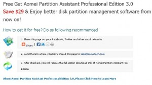 Partition Assistant Professional Edition Full Version Free Giveaway